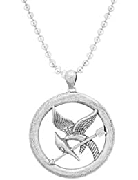 Voylla Alloy With Oxidized Silver Plated Pendants For Men