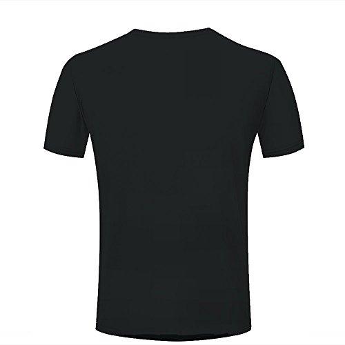 qianyishop Mens Womens 3d Print T ShirtsCool meteorite planet Graphic Fashion Couple Tees Top Short Sleeve B