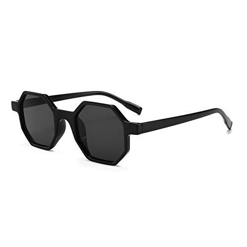 CCTYJ Sonnenbrillen Octagon Women Polygonal Sunglass Ladies Kleine Sonnenbrille Shades Weibliche Sonnenbrille