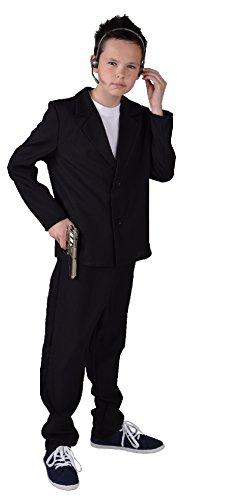 unge Bodyguardkostüm Bodyguardanzug Gr.140 (Spion-anzug)