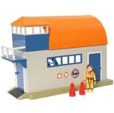 Set Garage à Bateau de Sam le Pompier - Figurine Penny le pompier -