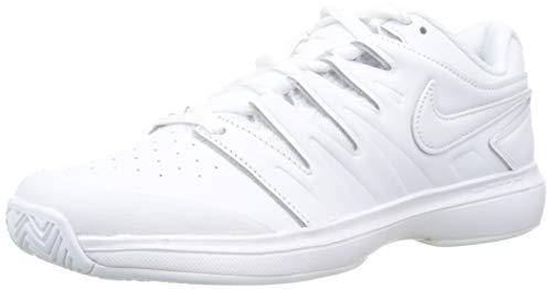 Nike Herren Air Zoom Prestige Hc Lthr Fitnessschuhe, Weiß White/Black 100, 42 EU (Nike Prestige)