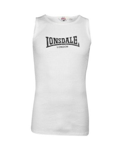 Lonsdale London -  Canotta  - Uomo weiß (7000)