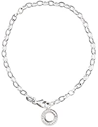 Thomas Sabo Damen Charm-Fußkette 925er Sterling Silber X0034-001-12