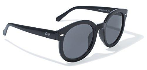 Swag Sonnenbrille Global Vision Eyewear Nite Owl Series Sonnenbrille mit schwarzem Rahmen und Smoke Objektive - Serie Night Vision