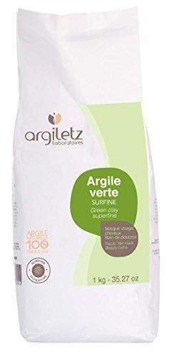 Argiletz Grüne Tonerde, extrafein, 1000 g