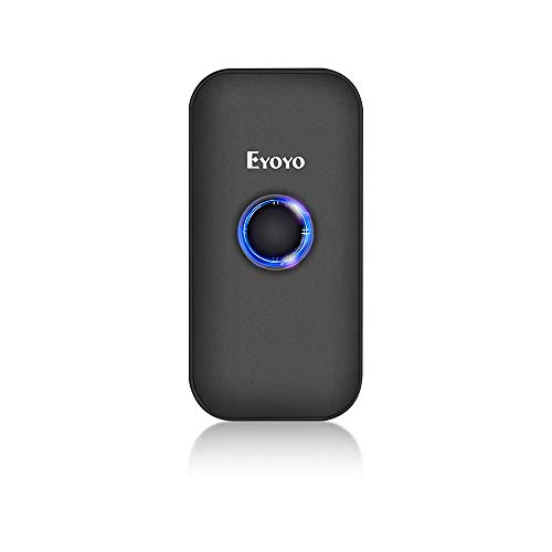 Eyoyo Mini 1D 2D Lector Código de Barras,3-en-1 USB Wired/2.4G Inalámbrico/Bluetooth Barcode Scanner...