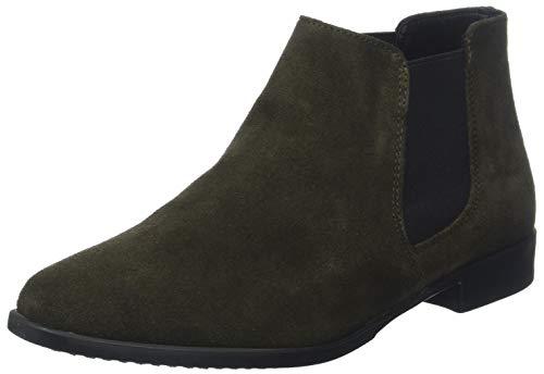 Tamaris Damen 25038-21 Chelsea Boots, Grün (Forest 710), 35 EU -