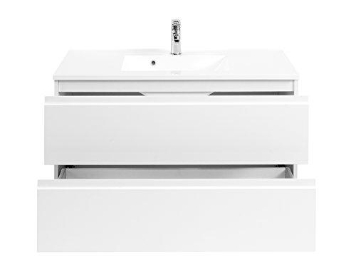 Waschtisch Waschplatz Waschbeckenunterschrank Unterschrank Schrank Bad