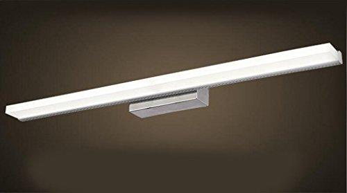 Miaoge Impermeabile LED specchio Luci moderno minimalista acciaio inox impermeabile