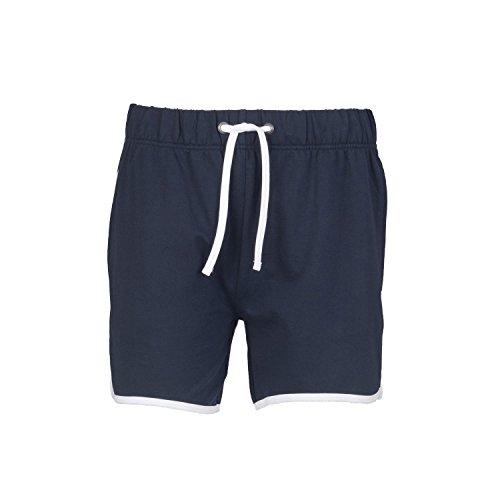 SF Men Retro Shorts - Navy/ White - XL -