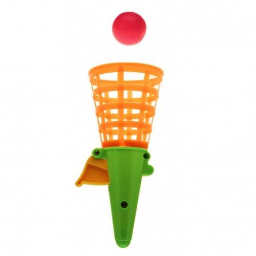 441004, Fangballspiel 4 Stück, je ca 19 cm, inkl. Ball, Fangbecher, Fang Ballspiel, Fangspiel, auch toll zur Verlosung, Tombola, Trostpreis, Mitgebesel, Mitbringesel, usw