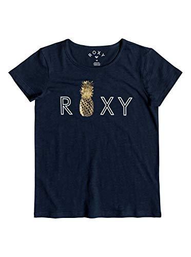 Roxy Mädchen Stars Dont Shine Tee-Shirt, Dress Blues, 8/S -