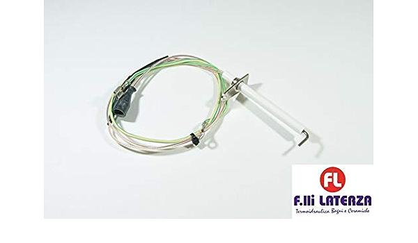 BERETTA CANDELA ACCENSIONE RILEVAZIONE FIAMMA R1838 CALDAIA METEO MIX ELETTRODO