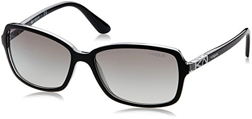 Vogue Gradient Rectangular Women'S Sunglasses - (0Vo5031S23851158|57. 9|Grey Gradient) image