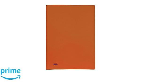 Arancio Favorit 100460273 Portalistino con 40 Buste Formato Interno 22x30 cm