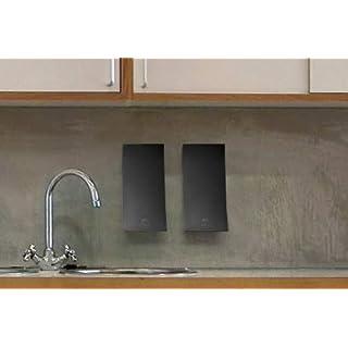 Aviva Wave wall mounted soap dispenser - Matt Black