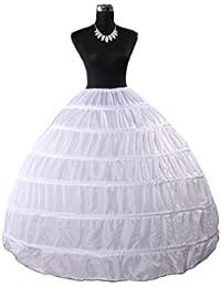 Babydress® Jupons crinoline mariage jupon 6 cerceau mariée jupon hoopless robe de mariée Jupons femme Jupes sculptantes wedding petticoat robe de bal jupon Jupes femme Jupon