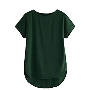 Fabricorn Plain Up and Down Cotton Tshirt for Women Best Online Shopping Store