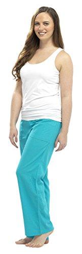 Tom Franks - Bas de pyjama - Femme Bleu - Turquoise