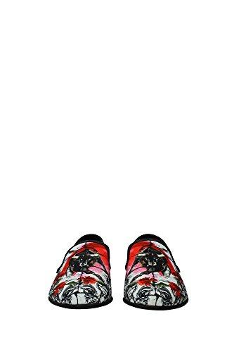 CA6648AF8838B014 Dolce&Gabbana Pantoufle Homme Toile Multicouleur Multicouleur