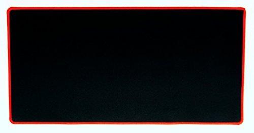 Erweitertes Large Schwarz Premium Gaming Maus Pad --Colorful genähte Kanten --Beste Video Game Schreibunterlage --61x 30,5cm -
