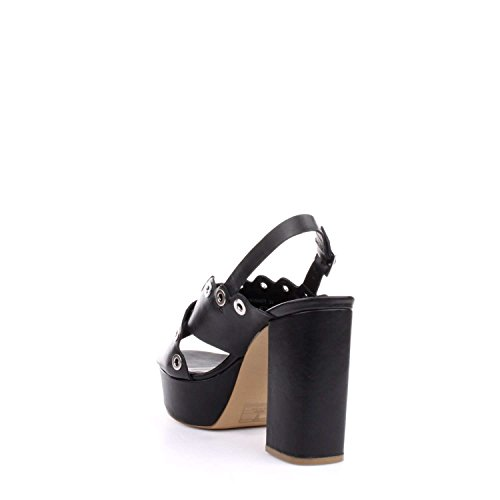 Docksteps DSE104377 Sandalo Tacco Donna Nero
