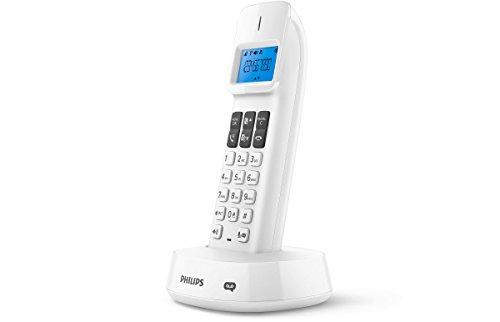 Philips d1461W schnurloses Telefon mit Anrufbeantworter weiß - Philips Schnurloses Telefon