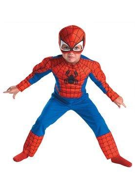 (Spiderman Kostüm Make Up)