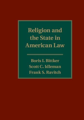 Religion and the State in American Law by Boris I. Bittker (2015-10-06)