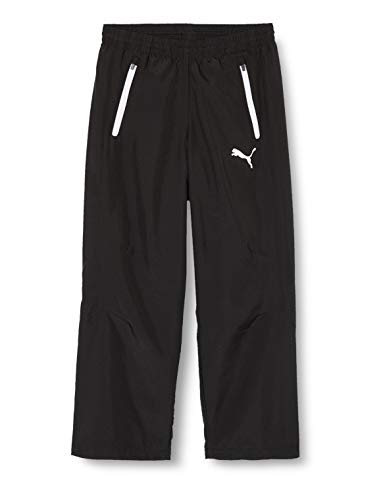 Puma Kinder Hose Leisure Pants, Schwarz, 128