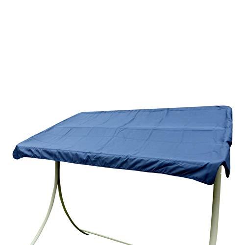 UK-Gardens Navy Blue Canopy de remplacement pour 2 Siège de jardin Swingseat hamac - Couverture de rechange