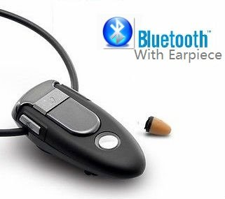 Limited Edition H550 Standard Bluetooth Loopset Neckloop Full Sets with spy earpiece (Black Full sets)