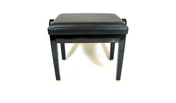 Valueway Pro X Frame Keyboard Bench Piano Stool Adjustable Height Padded  Seat Durable Modeling
