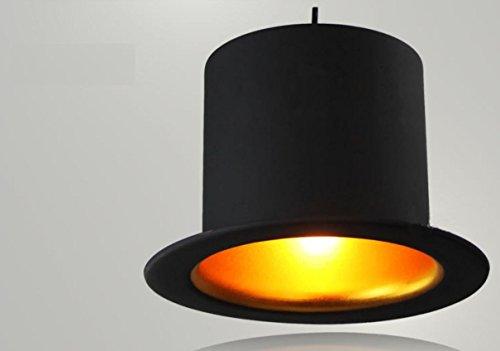 GAOFG Lampadario di cappello minimalista moderno di ristorante e bar , flat top hat