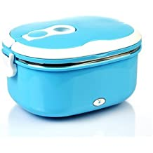 Express Panda® lonchera eléctrica con envase de comida Interior de acero inoxidable [Popular electrónica calentamiento lonchera con accesorios completo]