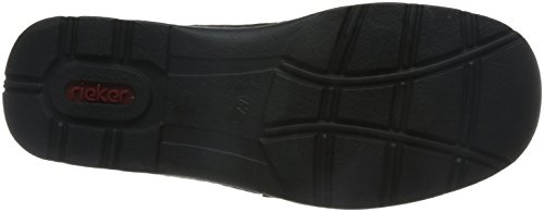 Rieker 5350, Mocassins Homme Noir (Schwarz/Schwarz/00)