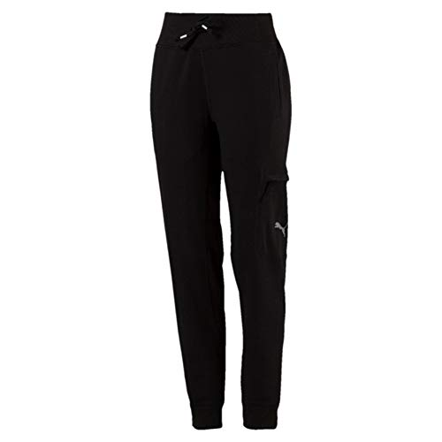 Puma feel it, pantaloni tuta donna, nero black, s
