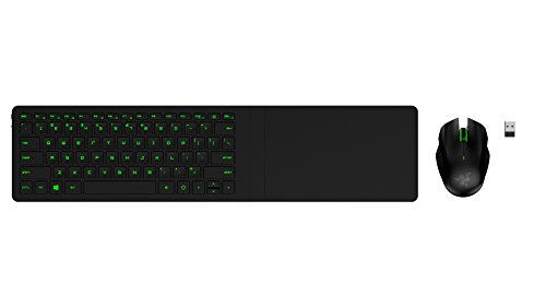 Razer Turret – Living Room Wireless Gaming Keyboard, Mouse and Lapboard 31KPePOtTAL