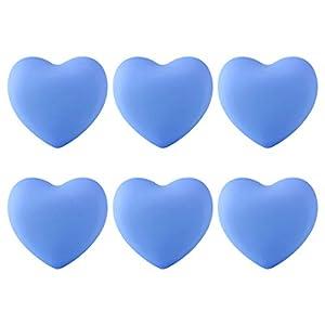 Haunen 6er Set Möbelknöpfe Kinderzimmer Möbelgriff Kinder Set Schubladenknopf Schrank Kommoden Ziehgriffe Herzform, 4×3…