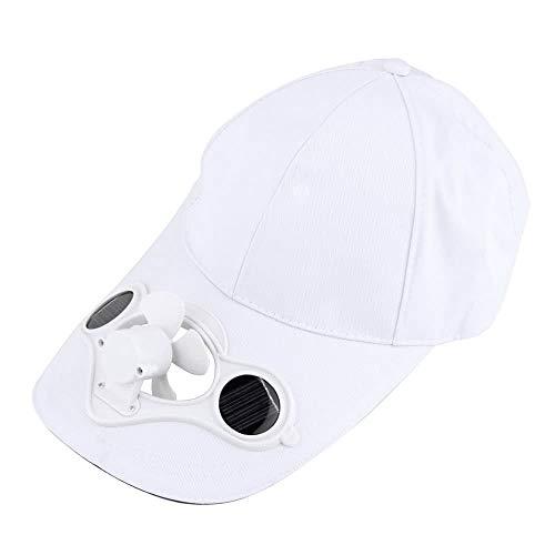 Solar-cool Cap (Jiali Sommer Sport Outdoor Hut Cap mit Solar Sun Power Cool Fan für Radfahren)