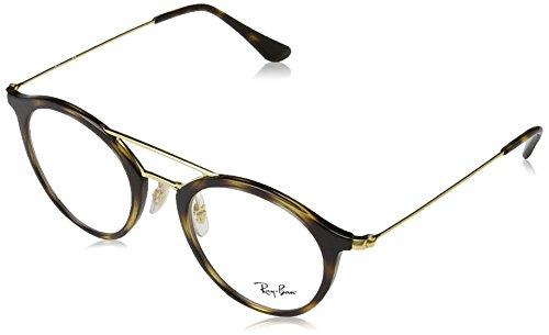 Ray-Ban Unisex-Erwachsene Brillengestell 0rx 7097 2012 49, Braun (Havana)