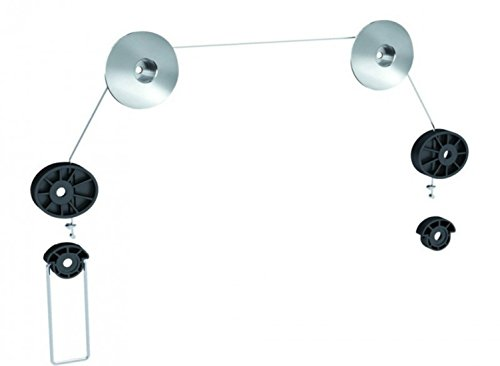 Störch® Fully Articulated Wall Bracket for 17-42 TV/Wall 100 to 393 mm Can Hold up to 30 kg Plaqué argent - Plateado y negro VESA 800