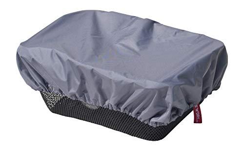 NICE \'n\' DRY Abdeckung und Regenschutz für Fahrradkorb grau
