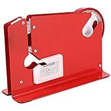 Sellador Rojo de Bolsas + 6 rollos de cinta para fruta, vegetales y pan (