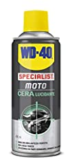 Idea Regalo - WD-40 Specialist Moto - Cera Lucidante Moto Spray - 400 ml