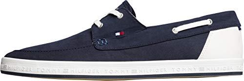 Tommy Hilfiger Scarpe da Barca per Gli Uomini, Color Blu, Marca, Modelo Scarpe da Barca per Gli Uomini FM0FM02205 Blu