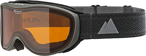 ALPINA Unisex- Erwachsene Challenge 2.0 DH\' Skibrille, Anthracite, One Size