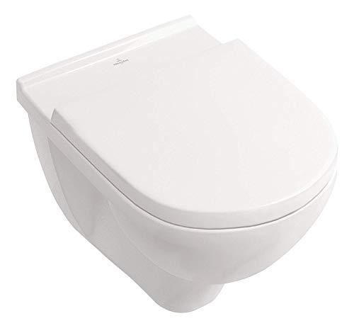 Villeroy & Boch Combi-Pack O.novo Wand-WC DirectFlush Weiß CeramicPlus + Sitz 5660HRR1