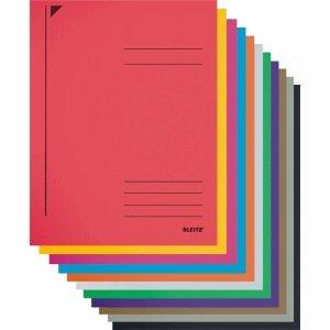 25 x Leitz Spiralhefter A4 Karton farbig sortiert